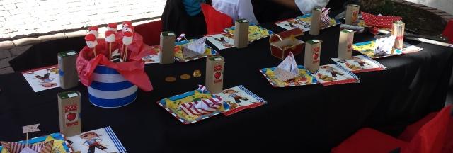 mesa niños