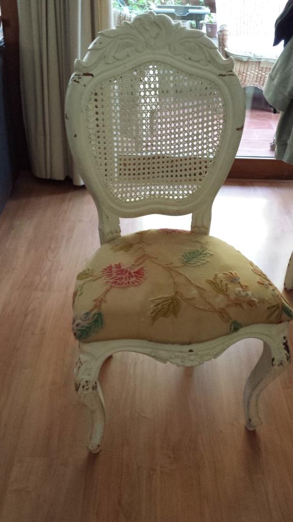 silla antes