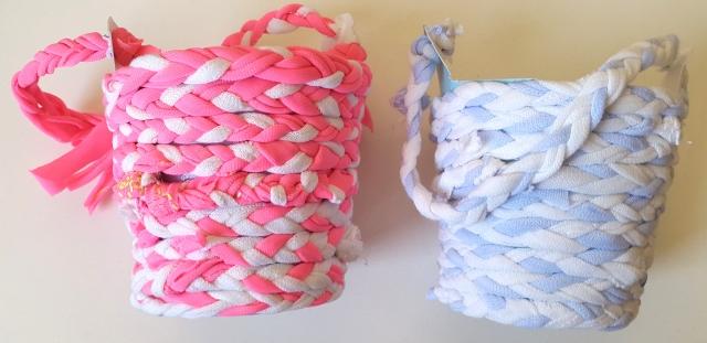 canastitas listas de T-Shirt yarn
