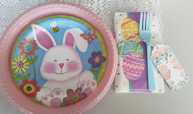 mesa pascua plato niña2